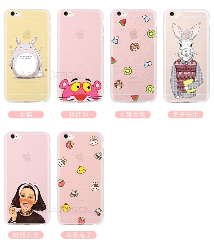 【苹果6 plus可爱卡通手机壳】-null-3c数码配件
