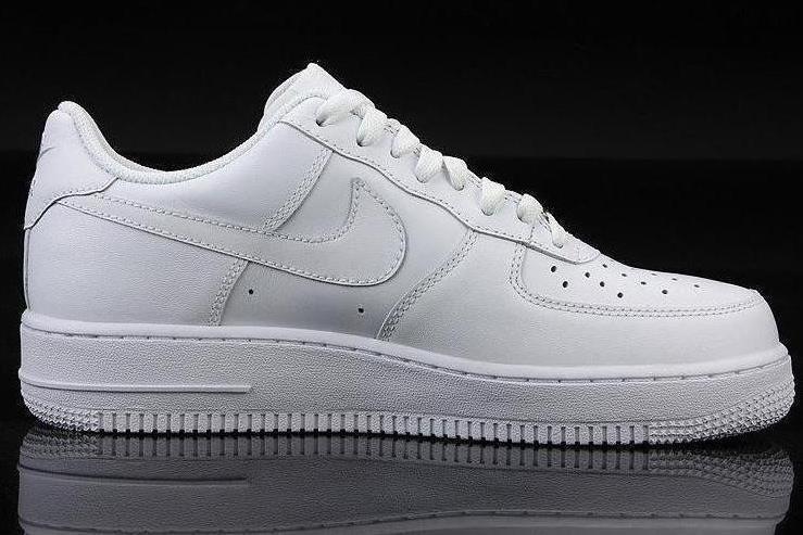 经典款airnike空军一号全白小白鞋