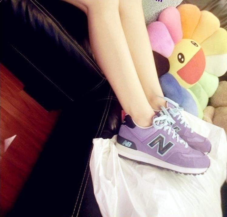【小人物nb紫罗兰运动鞋】-男装-服饰鞋包