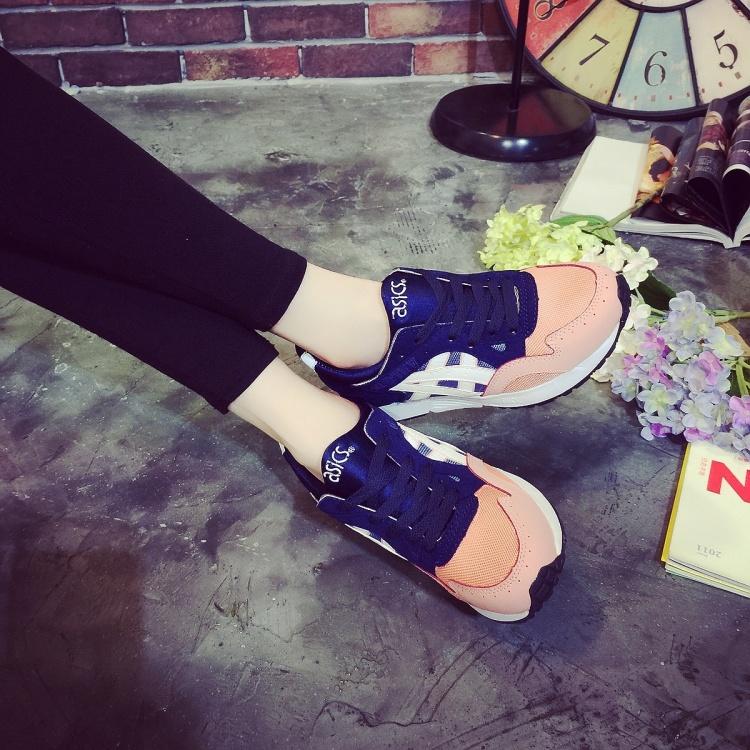 【亚瑟士情侣透气复古慢跑运动鞋】-鞋子-运动户外