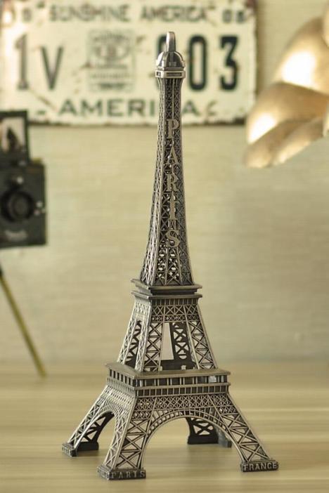 【巴黎埃菲尔铁塔模型】-家居-摆件
