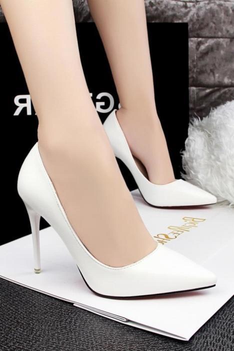 高跟鞋,超高跟,细跟,尖头,性感,夜店