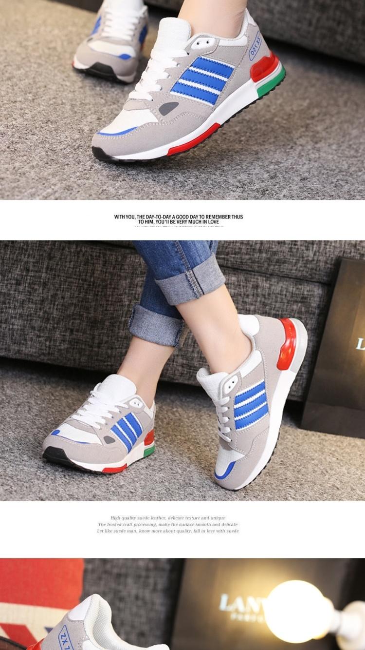 ulzzang跑步鞋韩版学生